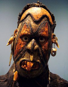 Iatmul mask, part of a dance costume Papua New Guinea
