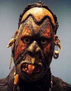Iatmul mask, part of a dance costume Papua New Guinea