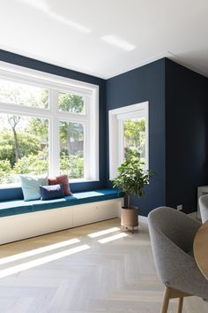 Trendfrisuren Baby trend, akkurater Mittelscheitel oder The french language Minimize Kick the bucket Cozy Living Rooms, Interior Design Living Room, Living Room Designs, Lounge Design, Bedroom Wall Colors, Bedroom Decor, Blue Rooms, Home And Deco, Living Room Inspiration