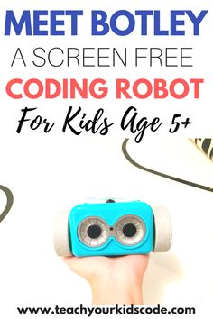 Our Hands On Review with the Botley Coding Robot! If you are looking for an awesome STEM toy for kids, Botley is a neat coding robot that is perfect for kids age 5+. Teach kids to code with a screen free coding toy. Click through to read our full review of this amazing coding robot. Pin this to your STEM activities board for later! #coding #STEMactivities #screenfreeactivities #teachkidscode