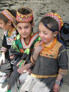 Nuaghty Kalash girls