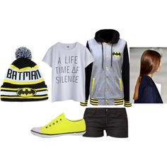 """""""Batman Outfit"""" by emma-rite on Polyvore"""
