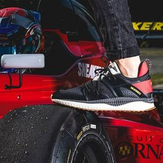 The @sneakernessparis x PUMA Tsugi Blaze is built for both speed and comfort.  via SNEAKER FREAKER MAGAZINE OFFICIAL INSTAGRAM - Fashion  Advertising  Culture  Beauty  Editorial Photography  Magazine Covers  Supermodels  Runway Models