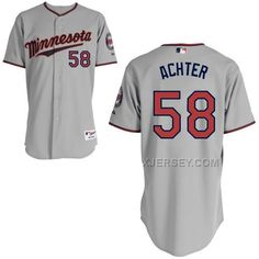 http://www.xjersey.com/twins-58-achter-grey-cool-base-jerseys.html Only$43.00 TWINS 58 ACHTER GREY COOL BASE JERSEYS Free Shipping!