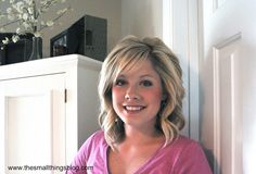 The Small Things Blog: How to Curl Your Hair With a Curling Iron (full head tutorial)