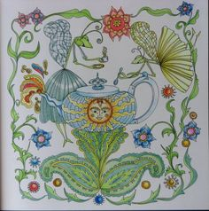 A 25. képem.  Jessica Palmer Tangle Magie coloring book.