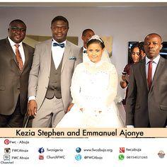 The #GreatMystery Congratulations to Kezia & Emmanuel. #FWCweddings