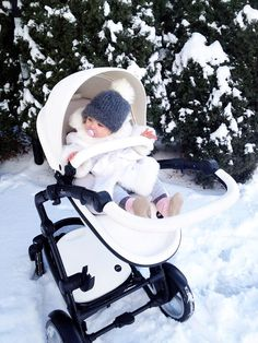 "Simenov in USA said, ""It's so beautiful outside. We love this Snow White kobi on white snow!"" :) #mimakids"