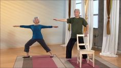 Yoga for Seniors - Relax Into Yoga V.2 Top Callout