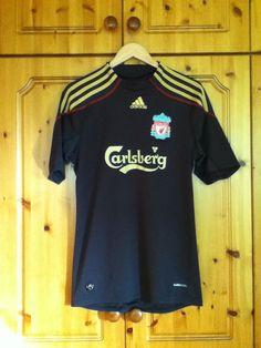 5359cf28d6e Liverpool Football Club Away Jersey 2009 to 2010 Medium Adult adidas  Liverpool Football Club