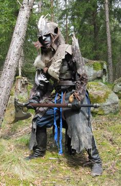 Goblin or Orc shaman larp by ~Markehed on deviantART
