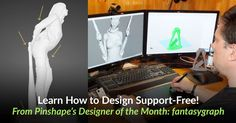 Hate those annoying printer support structures when you do your prints? Fantasygraph is our featured designer with tips on getting rid of supports! 3d Printing Diy, 3d Printer, Rid, Innovation, Technology, Learning, Spotlight, Prints, Hate
