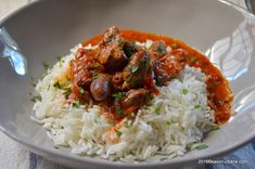 Tocanita de pipote si inimi de pui | Savori Urbane Risotto, Grains, Rice, Food, Red Peppers, Essen, Meals, Seeds, Yemek