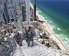 SkyPoint Climb: SkyPoint Climb takes place on the top of the Q1 building in Surfers Paradise and at 270 metres in the air, it is one of Australia's highest external building walks.  Starting on level 77 of SkyPoint Observation Deck, Climbers will enter the open...