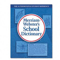 The Merriam Webster Dictionary Of Synonyms And Antonyms Merriam