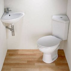 Corner Sink and corner toilet?