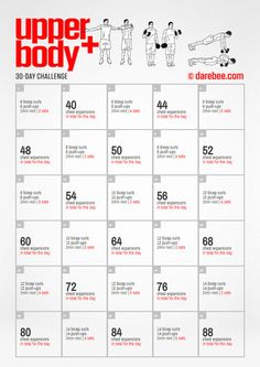 Upper Body Plus Challenge Workout