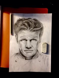 • Gordon Ramsay • #portrait #realistic #draw #art