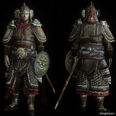 chinese armor and weapons | Chinese General Armor and weapon : DRAGONPORN