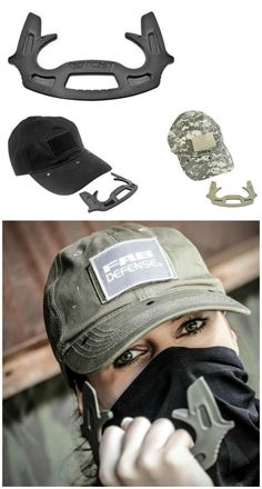 Gotcha Cap With Hidden Self Defense Tool is designed to ensure that you will never be caught empty handed. Quick and always within reach.