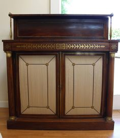 Regency Brass Inlaid Rosewood Chiffonier in FURNITURE from Hand of Glory Antiques