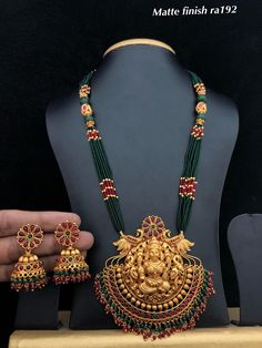 Temple Jewellery available at Ankh Jewels for booking WhatsApp on Gold Temple Jewellery, Gold Jewellery Design, Gold Jewelry, Branded Jewellery, Pearl Jewelry, Beaded Jewelry Designs, Jewelry Patterns, Necklace Designs, Gold Mangalsutra Designs