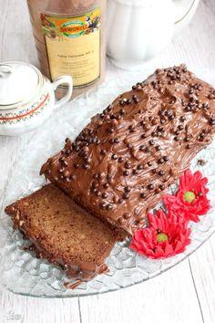 Wilgotne ciasto kakaowe mieszane łyżką | Słodkie okruszki Cake Cookies, Banana Bread, French Toast, Pudding, Cooking, Breakfast, Food, Impreza, Drinks