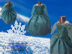 Frozen girl costume dress elsa coronation ball gown cosplay   Vestido de Elsa princesa de hielo vendo barato mexico df monterrey guadalajara etc