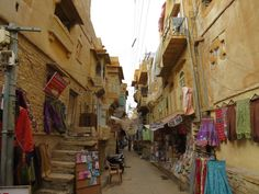 Jaisalmer Jaisalmer, Street View, Asia