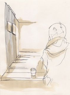 Coffee and Pen Coffee Drawing, Wine, Google Search, Drawings, Sketches, Drawing, Portrait, Resim, Draw