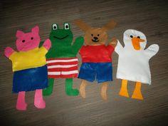 kikker en zijn vriendjes (juf Elke)