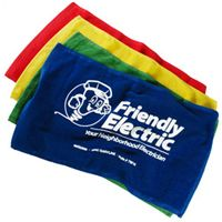 You can personalize these Colored Rally Towels to support your home team