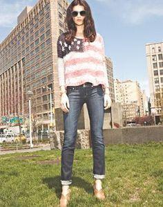 Love this patriotic look.