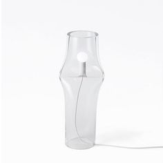 Modern Press Glass Table Lamp 13424