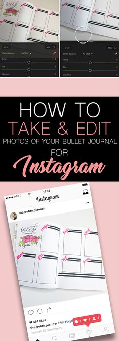 How to Take and Edit the Perfect Bullet Journal Photos for Instagram. Bullet Journal Font, Bullet Journal Tracker, Bullet Journal Printables, Bullet Journal Junkies, Bullet Journal Spread, Bullet Journals, Bullet Journal For Beginners, Bullet Journal How To Start A, Day Planners