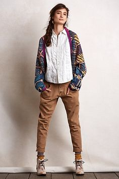 Kapital Cocoon Cardigan #anthropologie