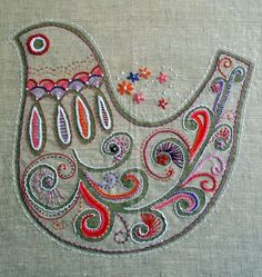 "prints charming embroidery | Prints Charming"" Cath Derksema and Kristen Junor (Australia) make ..."