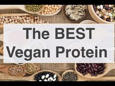 The many sources of vegan protein.  Check out this video by Yuri Elkaim