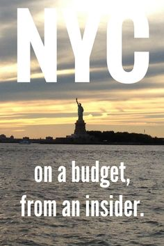 Want to save money in your trip to New York? Tips and tricks from someone who has lived in the city ;)