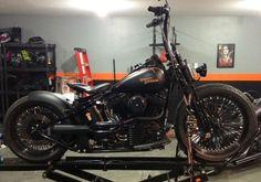Harley Crossbones - Shadetree Fabrications Conversion #shadetreefabrications #HarleyDavidson #Crossbones #custom #harleyaftermarket #shadetreefenderkit