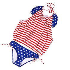 e37a6b5a8e American Flag Bikini,Womens American Flag Swimsuit Bikini 4th of July  Bathing Suit USA Flag