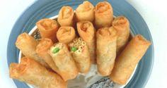 Have a unique take on lumpia with Del Monte Kitchenomics' Tuna Macaroni Rolls recipe! Del Monte Recipes, Native Foods, Sausage Casserole, Food Hacks, Food Tips, Asian Cooking, Filipino Recipes, Hot Dog Buns, Kitchens