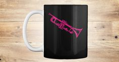 Discover Trumpet In Pink (Mug) Mug from Anderson Surreal Graphics only on Teespring - Free Returns and 100% Guarantee - No cutesy statements.  No cliche's.  No...