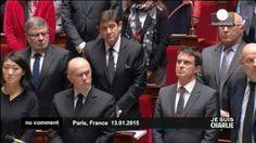 El Parlamento francés entona el himno nacional en honor de las víctimas de los atentados