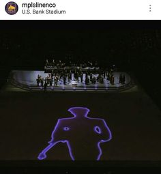PRINCE Tribute  Halftime at the Vikings-Packers game September 18 2016