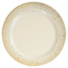 Lace Ivory Plastic Dinnerware Value Pack/ Smartyhadaparty.com 120 ...