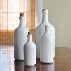 i love white bottles