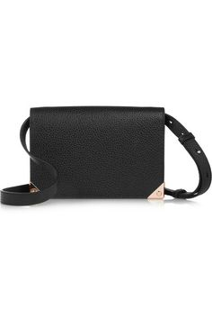 Prisma textured-leather shoulder bag by Alexander Wang Whats New, Net A  Porter, 580862ac6c