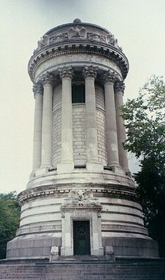 Soldiers' and Sailors' Monument, Riverside Park Conservatory at 89th street. NEW YORK CITY