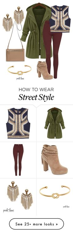 """Street Style"" by parklanejewelry on Polyvore featuring Topshop, Jessica Simpson and parklanejewelry"